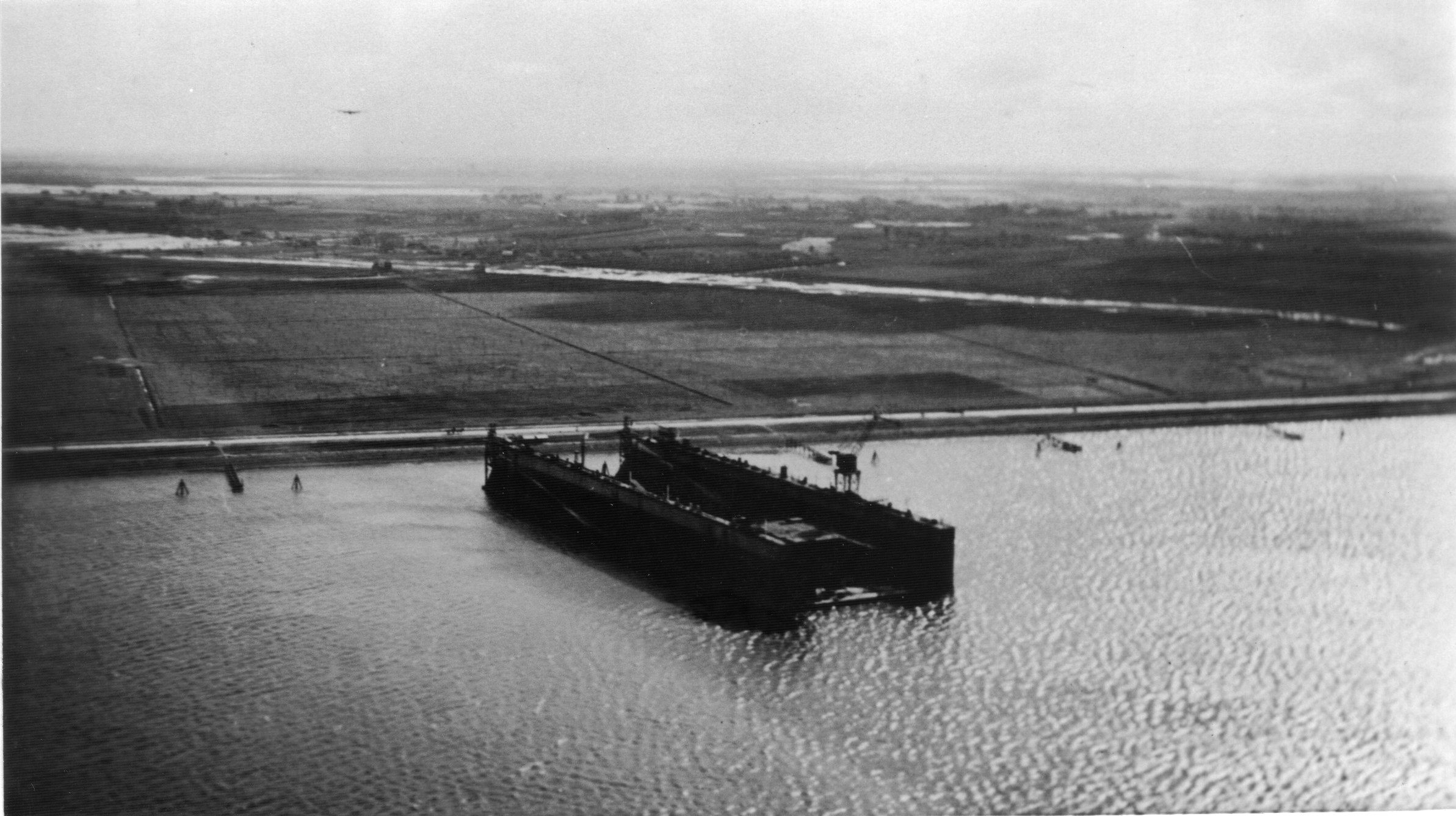Waalhaven Airfield and Floating Dock