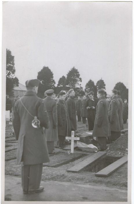 Funeral of David Inglis
