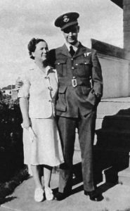 Jack Dye with his mother