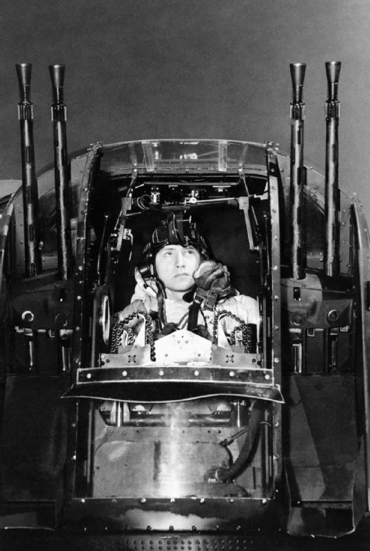 Lancaster tail gunner