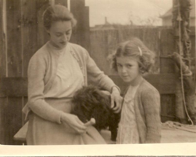 Wyn and Billy's sister Joan taken in 1951