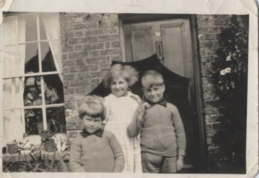 Left to right: Bob, sister Phyllis and brother Fred
