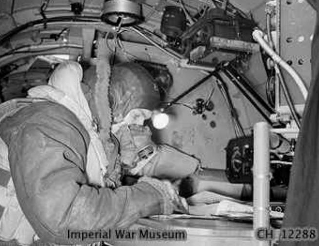 Navigator in a Bomber