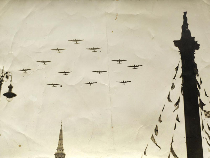 Lancasters over London