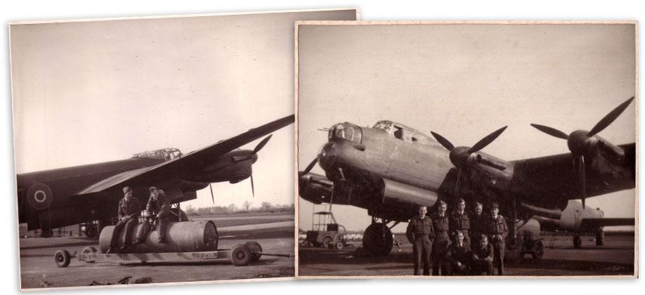 Lancaster two bomber