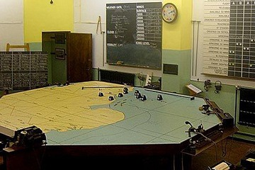 RAF Digby Lima Sector Operations Room Museum